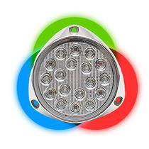 船用水下照明 / LED / 表面安装式 / 彩色