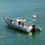 舷外充气艇 / 半硬式 / 骑乘式控制台 / 运动