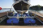 船用升降机 / 漂浮式 / 电镀钢