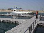 浮桥 / 可调节 / 系泊 / 用于海港