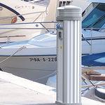 内置照明设备桩 / 配电 / 供水 / 浮桥