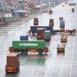 AGV无人搬运车 / 用于集装箱
