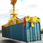 集装箱吊具 / 用于港口移动门式起重机 / 伸缩 / 双吊式