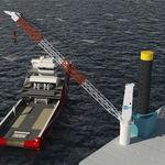 船舶起重机 / 港口 / 甲板 / 动臂式