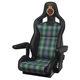 驾驶椅 / 用于近海快船 / avec accoudoir / 可调节