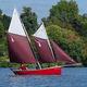 小帆船单体船 / 传统型 / 尾部开放式 / 玻璃纤维