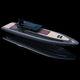 舷内充气艇 / 半硬式 / 封闭式驾驶舱 / 带驾驶室
