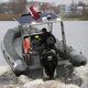 舷外充气艇 / 半硬式 / 中央控制台 / 骑乘式控制台