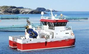 水产养殖用船和海上设备