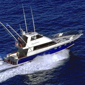 钓鱼运动机动游艇