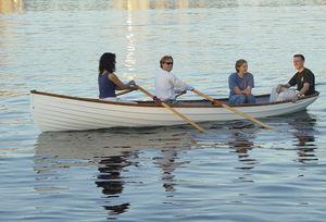 休闲划桨船