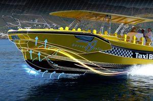 摩托艇船艏延长件