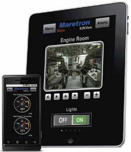 控制报警系统软件 / 船用 / 用于智能手机