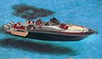 舷外快艇 / 三引擎 / 开放式 / 最多容纳 12 人