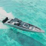 舷外敞开艇 / 开放式 / 中央控制台 / 运动