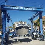 游艇起重机 / 港口 / 用于海港 / 轮胎式