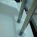游艇船艏栏杆