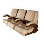 游艇软垫长椅