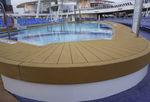 防滑甲板保护层 / 柚木板条