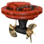 方位角推进器 / 船舶 / 电动 / 双反向旋转螺旋桨