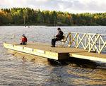 浮桥 / 浮码头 / 用于海港 / 木质