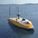 水文地理研究水面无人艇 / 自主 / 遥控 / 小型三体船
