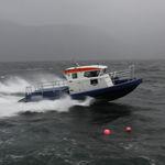 专业巡逻船 / 舷内 / 铝制