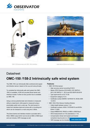 OMC-150 /158-2 Intrinsically safe wind system