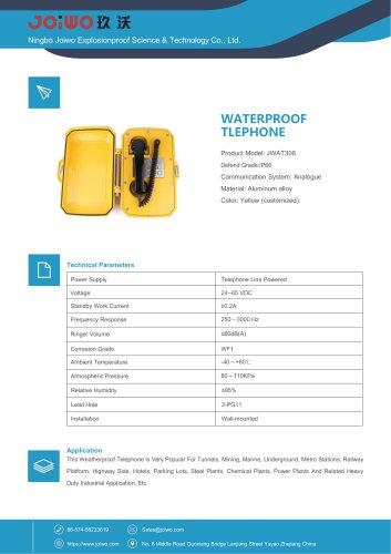 IP66 ship waterproof telephone