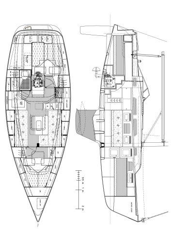 Hallberg-Rassy 342 Standard specifications