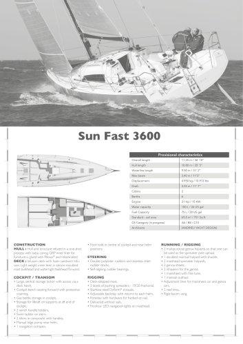 Sun Fast 3600