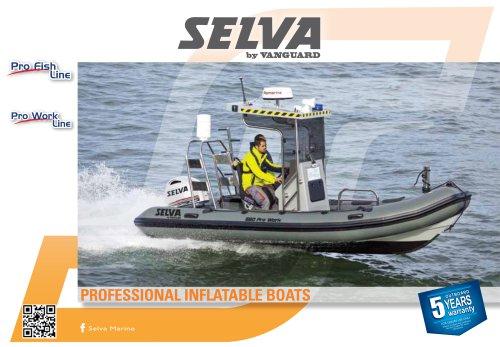 Fibreglass boat Pro Fish Line, Pro Work Line