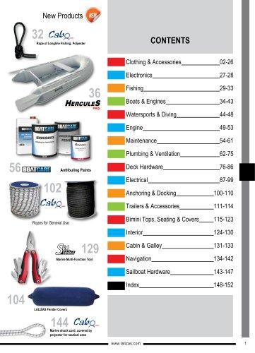 Marine Equipment Selection Items
