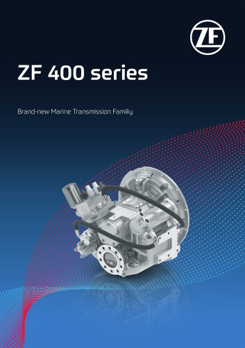 ZF 400 transmission series