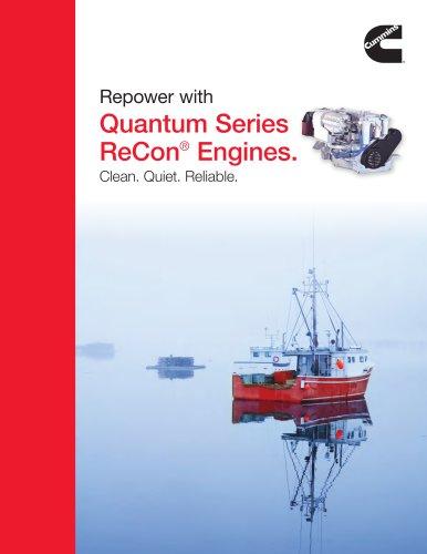 Commercial Marine Quantum Series ReCon Engines Flyer