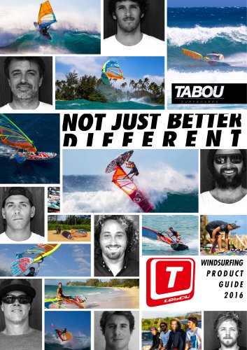 windsurfing product guide 2016