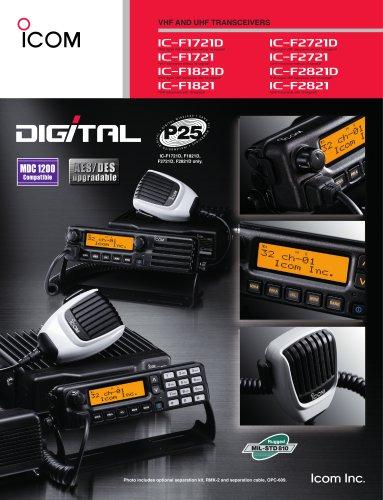 IC-F1721/D, IC-F1821/D,IC-F2721/D, IC-F2821/D