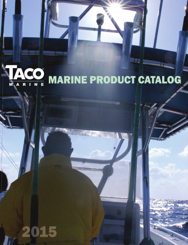TACO MARINE PRODUCT CATALOG