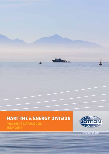 Maritime and Energy Division Product Catalogue 2017
