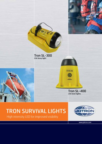 TRON SURVIVAL LIGHTS High intensity LED for improved visibility
