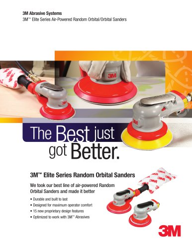 3M™ Elite Series Random Orbital Sanders