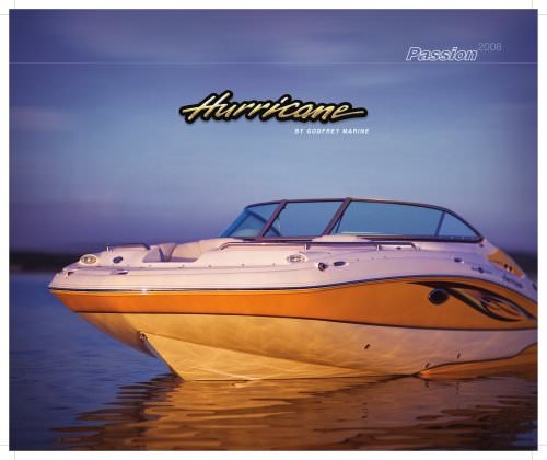 Hurricane 2008 Brochure