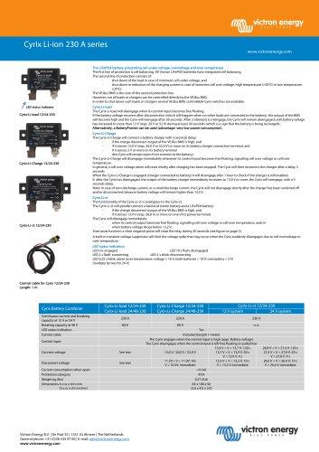 Cyrix Li-ion 230A series