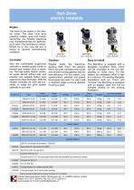 Sail drive electrical rotatable