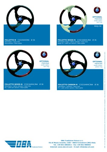 Steering Wheels Folletto