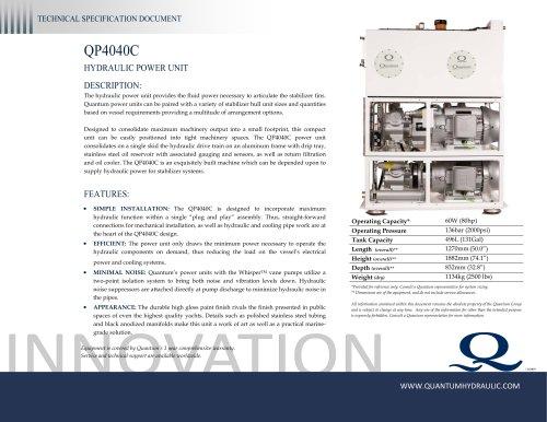 Quantum HPU QP4040C