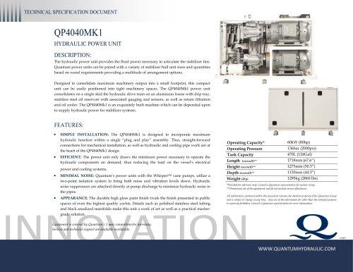 Quantum HPU QP4040Mk1