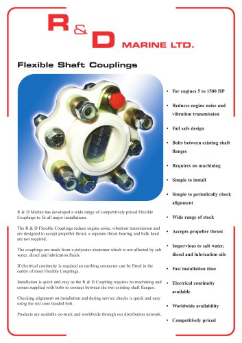 Flexible Shaft Couplings