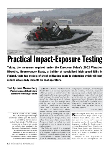 Practical Impact-Exposure Testing