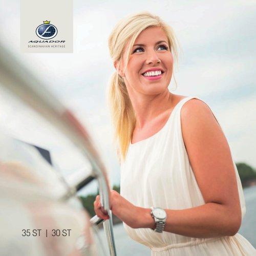 Aquador 30 ST - 35 ST Brochure 2014